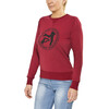 ÖTILLÖ French Terry Peached sweater Dames rood